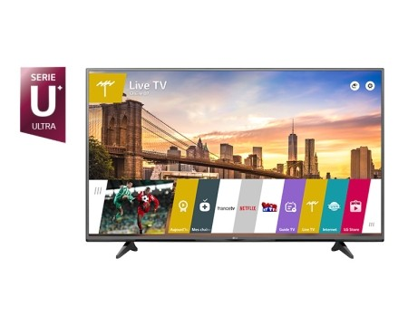 TV LG 4K 55'' UHD IPS Smart TV - 55UF680V  (1 an de garantie)